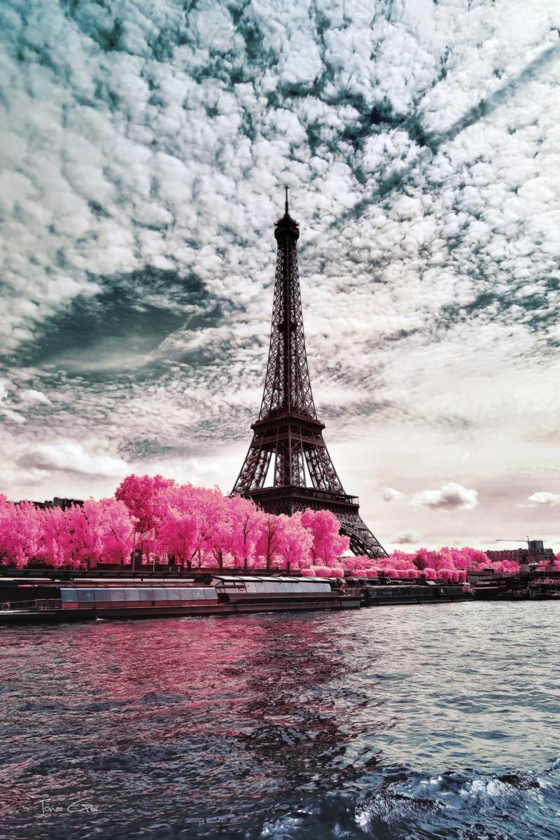IR'on Lady, Paris