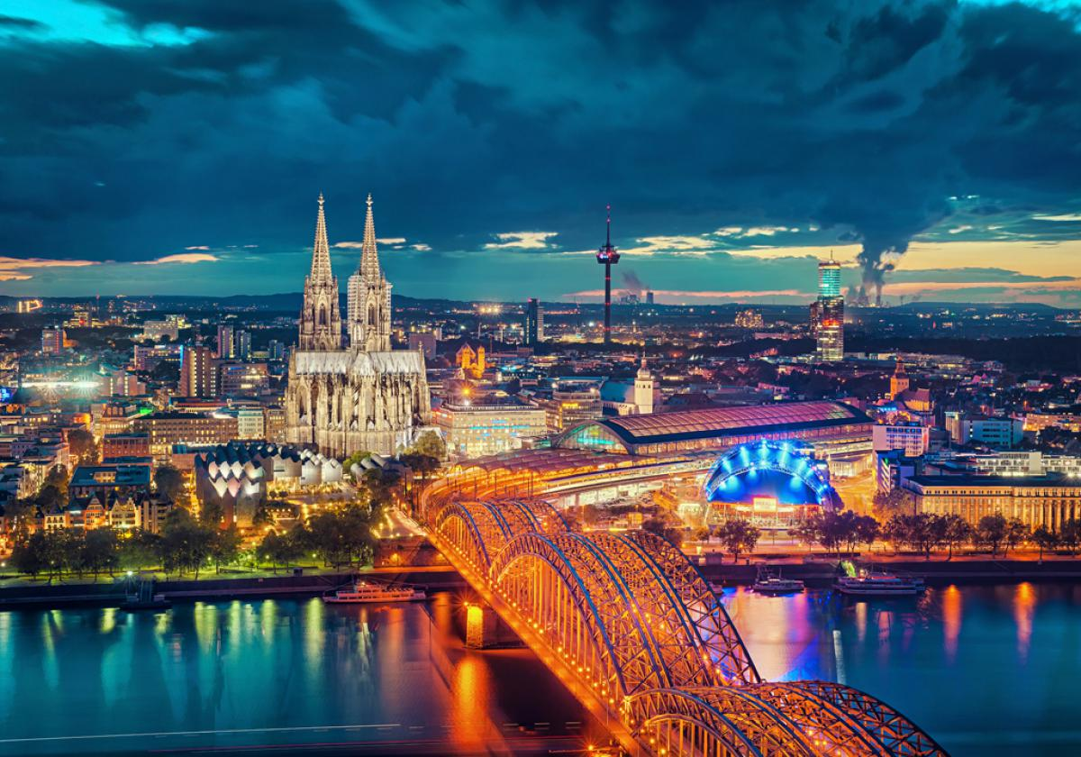 Cologne Blue Hour