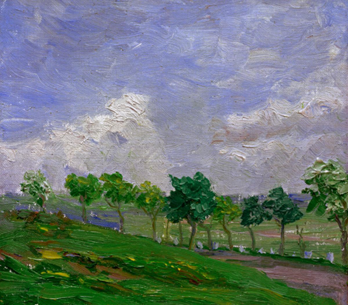 Landschaft bei Kandern, 1907