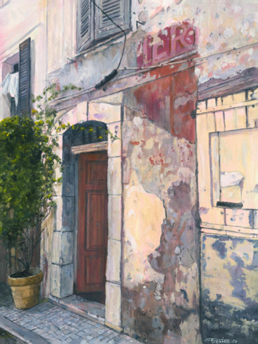 Rue du Vieil Antibes