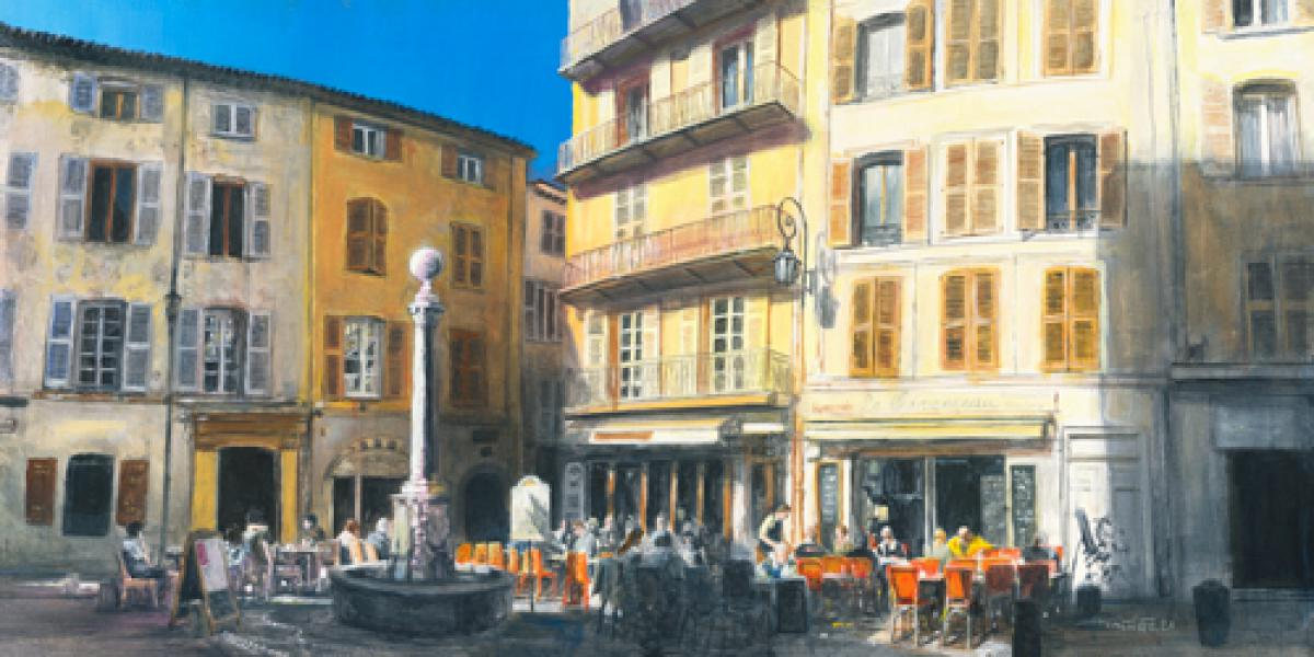 Place Nationale Vieil Antibes