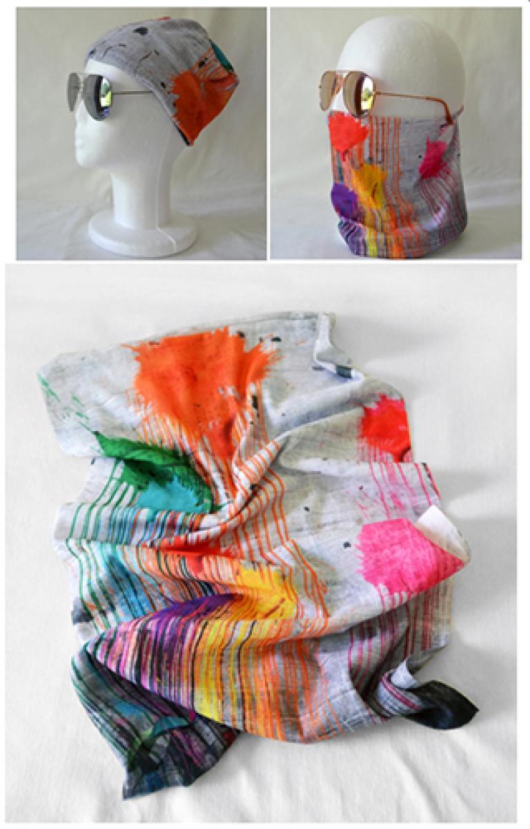 Bandana: Pluie de couleurs
