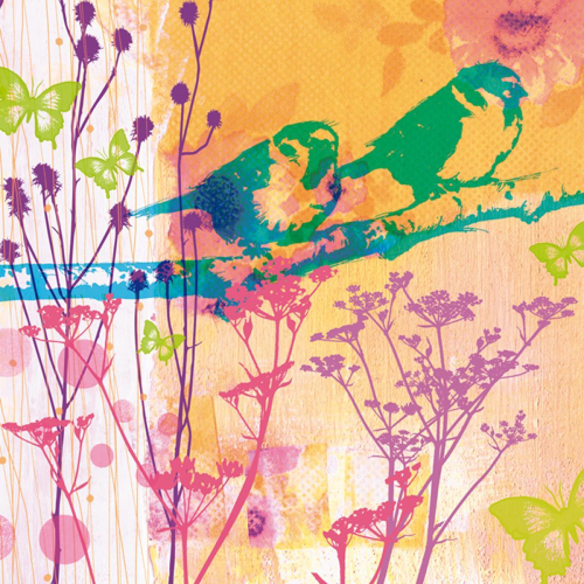 Les oiseaux du bonheur IV