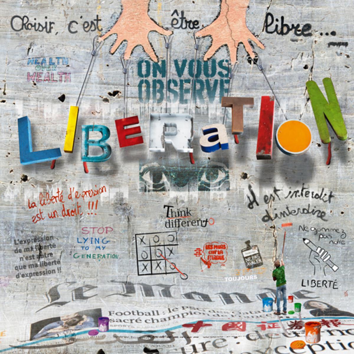Impressions urbaines : liberation
