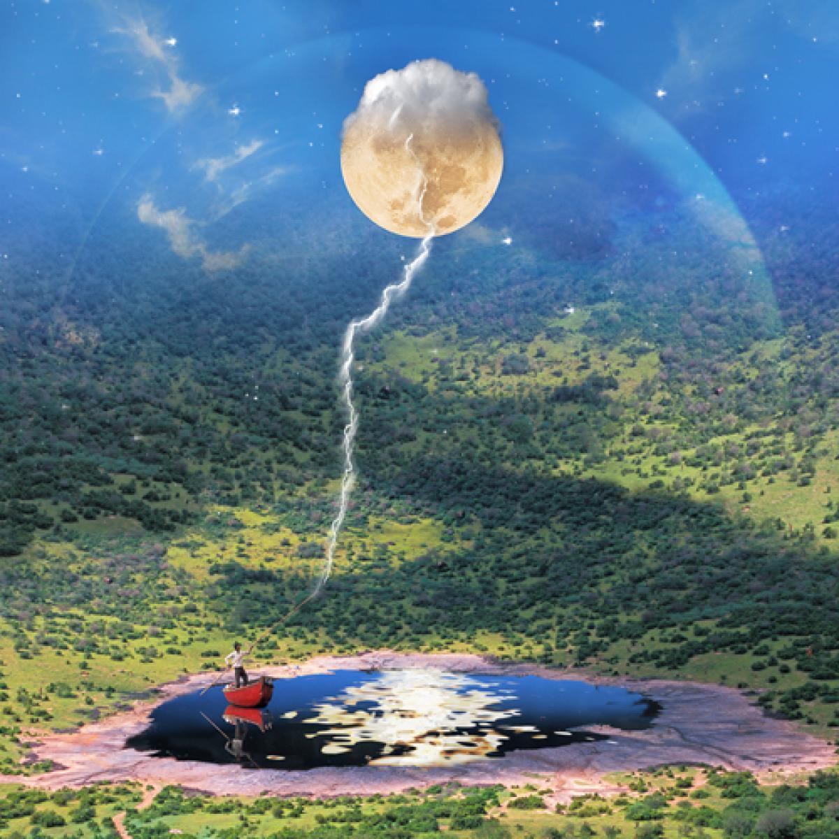 L`alpagueur de Lune