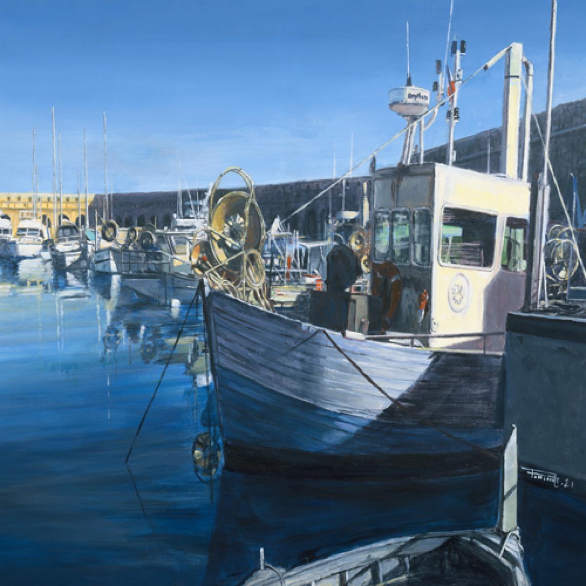 Port des pêcheurs Antibes
