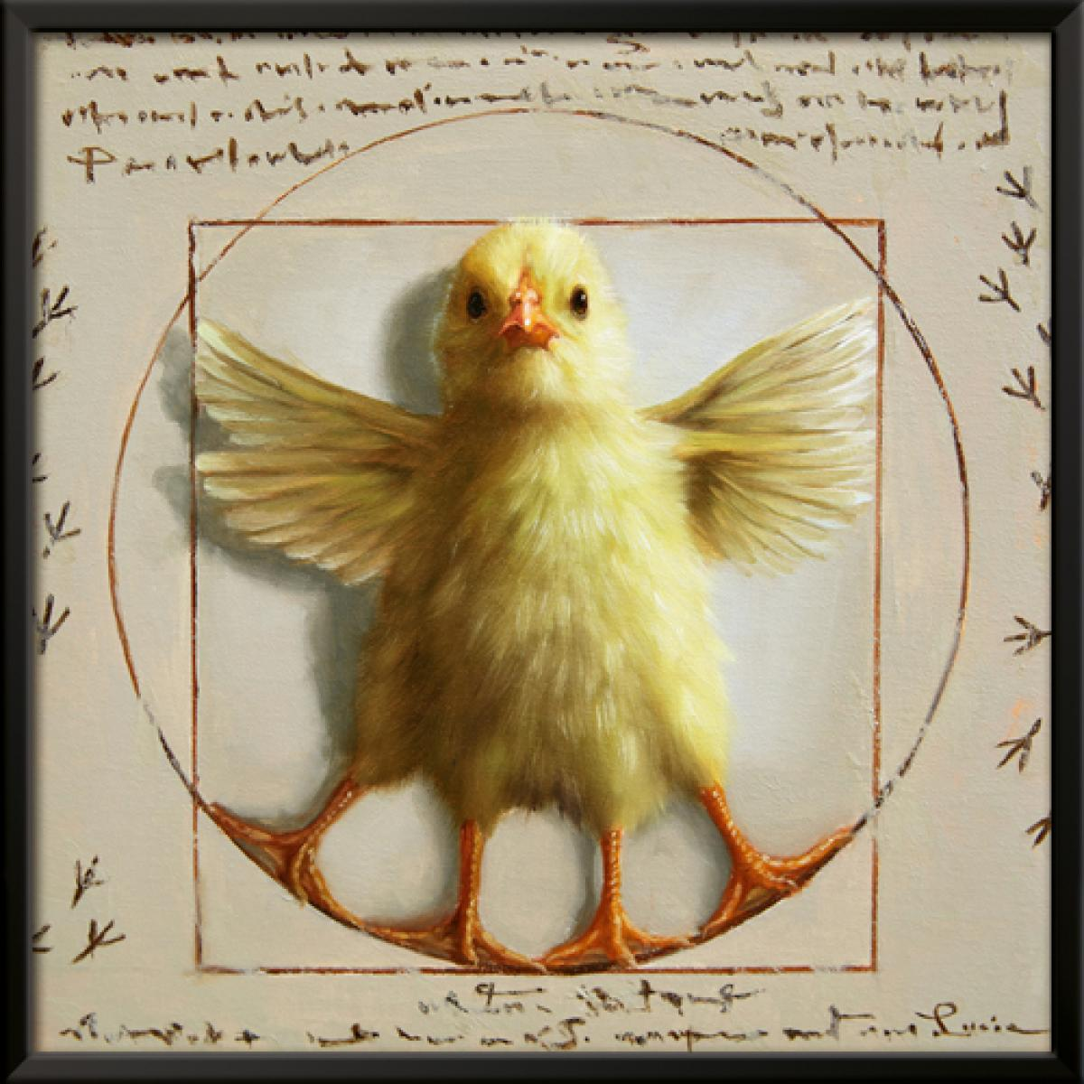 Vitrivian Chick