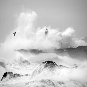 Storm in Cantabria