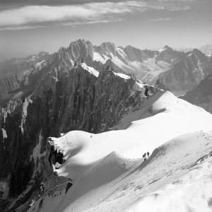 Descent to the Vallee Blanche, Chamonix