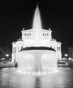 Frankfurt Alte Oper at Night