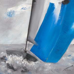 Voile bleue II