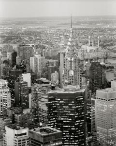 New York View over Chrysler Building