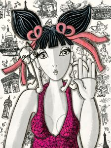 Rose à Paris