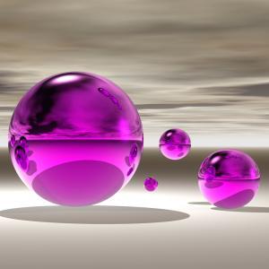 Purple Bowl II