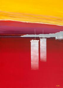Bateaux rouges