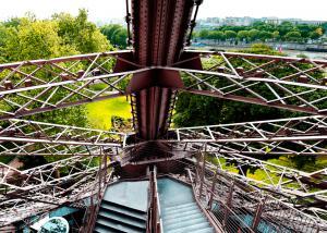 Escalier ouest