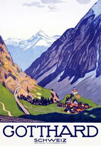 Gotthard, Schweiz