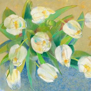 Weiße Tulpen 1