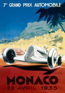 Monaco, 22. Avril 1935