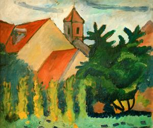 Kirche in Kandern, 1911