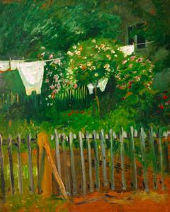 Wäsche im Garten in Kandern