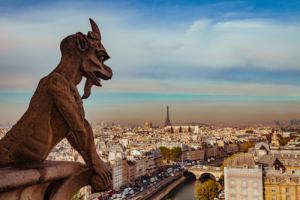 Vue sur Paris depuis Notre Dame