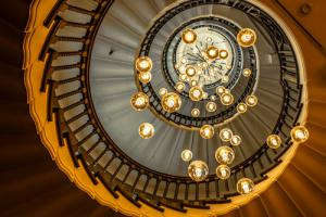 Below the Dreamy Staircase