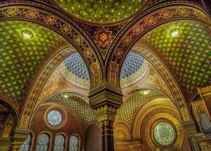 Colourful Synagoge I