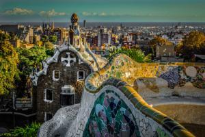 Colourful Barcelona