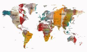 Worldmap in colors III
