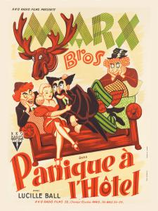Marx Brothers - French - Room Service 01