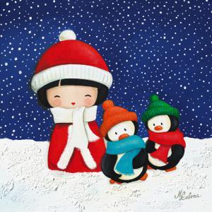 Les petits pingouins, série Yumi