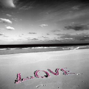 Love on Pink Sand