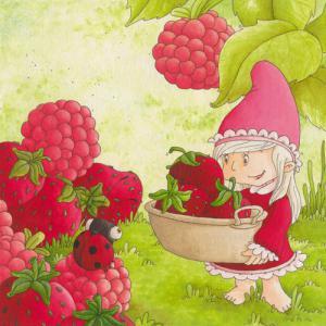 La naine et les fruits rouges