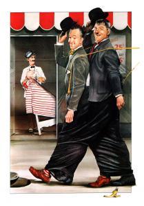 Laurel & Hardy - Ben Turpin