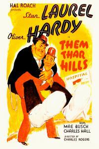 Laurel & Hardy - Them Thar hills, 1934