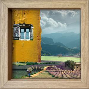 Fenêtre ouverte sur la Provence
