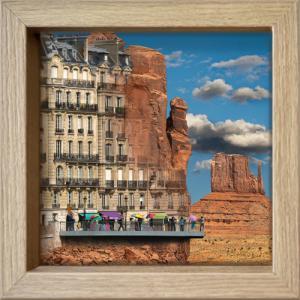 Rêve urbain: entre Paris & Monument Vall