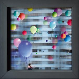 Envolée de ballons à Caracas