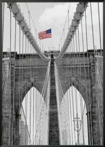 Brooklyn Bridge Tower and Cables #2