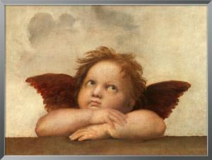 Die Sixtinische Madonna (Detail) IV