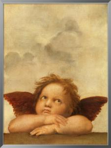 Die Sixtinische Madonna (Detail) VI