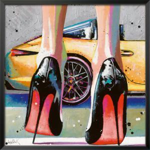 My high Heels, my pretty Car and Me