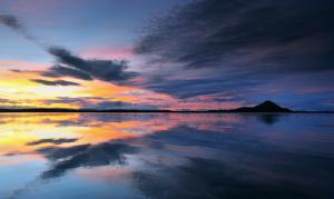 Lake Myvatn Reflections