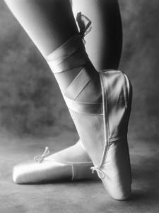 Feet of Ballet Dancer