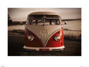 VW Red Kombi