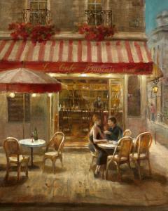 Paris Cafe II Crop