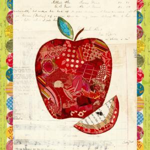 Fruit Collage I Apple