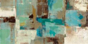 Teal and Aqua Reflections v.2