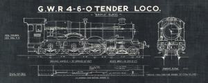 Train Blueprints III Black